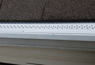 Eliminate water damage by protecting your gutters with leaf guards
