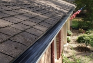 New gutter covers installed on home