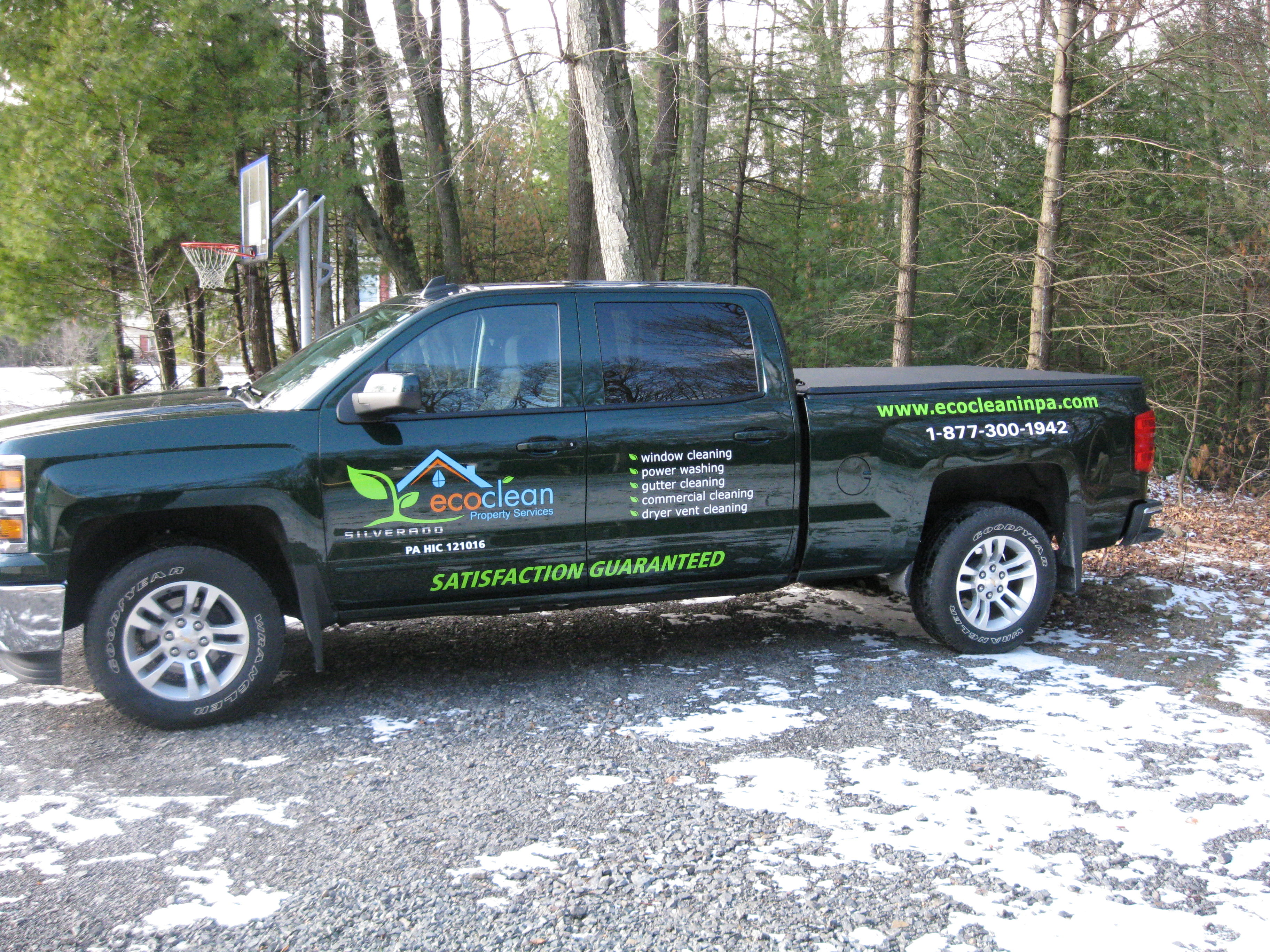 Ecoclean company truck