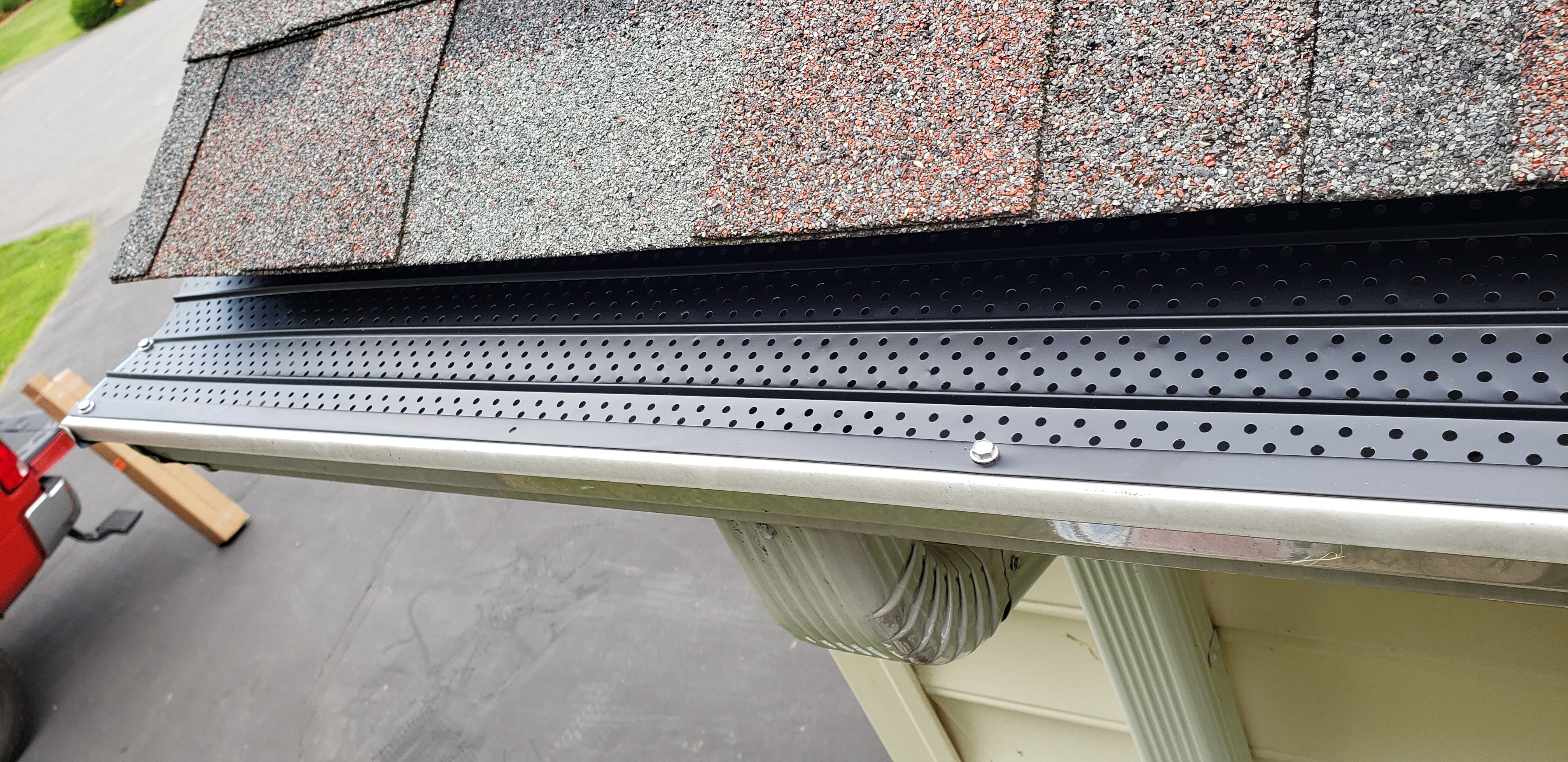 Protected gutter