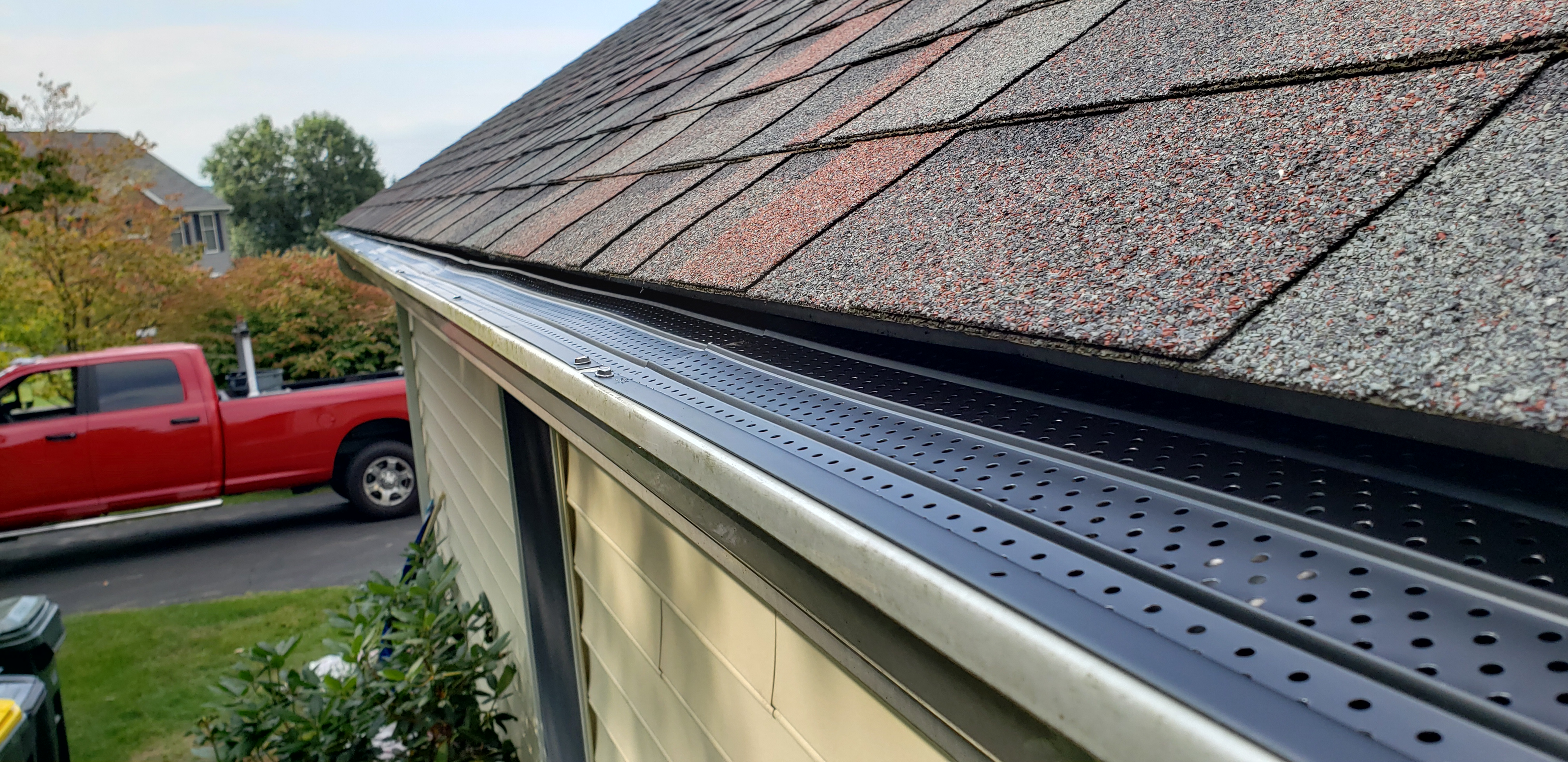 Flexxpoint gutter guards eliminate the need to clean gutters